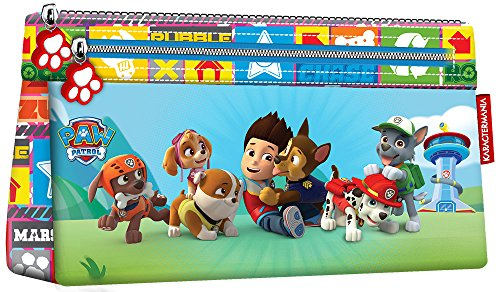 KARACTERMANIA 93535 La Patrulla Canina Team Estuches, 22 cm, Rojo
