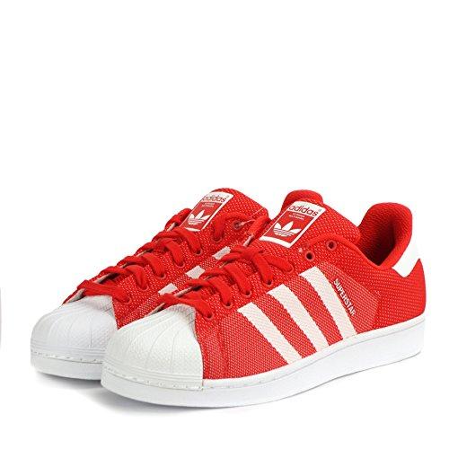 adidas Adidas Superstar, Sneaker uomo Red