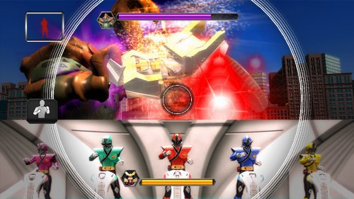 Image of Kinect Power Rangers Super Samurai XB360 [German Version]