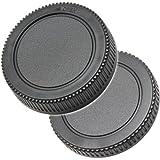Gehäusedeckel Objektivrückdeckel Set kompatibel mit M43 MFT Micro 4/3 Bajonett