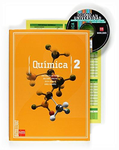 Química [Valenciano]. 2 Batxillerat - 9788467534870