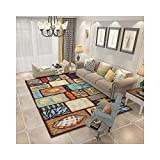 sanqi Laminat Teppich kibek Wohnzimmer kinderzimmer IKEA Teppiche outdoorTreppenteppich Linoleumboden große gemusterter Teppichläufer