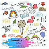 Doodle Libro da colorare: Un libro da colorare / libro da colorare per tutte le età e bambini / libro da colorare e attività