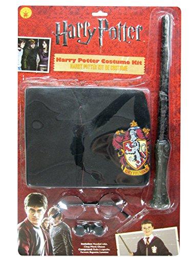 Disfraz para niños de Harry Potter, blíster, Kit con capa, talla única
