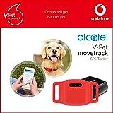 V-Pet movetrack by Vodafone mit V-SIM - Echtzeit LIVE GPS Tracker für Hunde und Katzen