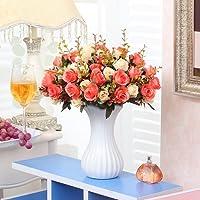 Xin Home Künstliche Blume Simulation Flower Set Home Möbel Möbel Wohnzimmer  Dekoration Blumen Innen Blumenarrangements Blumen
