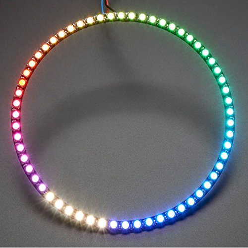 NeoPixel 1/4 60X 5050 RGBW 4500K LED mit integriertem Treiber Natural White Ring mit einem Viertel Ring LaDicha (Lineup Pins)