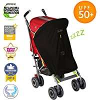SnoozeShade Original Universal Baby Sunshade (blocks 99% UV)