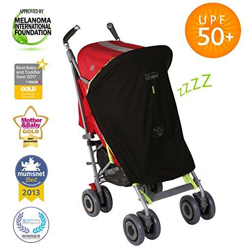 SnoozeShade Original Universal Baby Sunshade (blocks 99% UV)