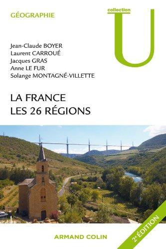 La France - Les 26 régions