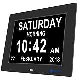 Day Clock-Upgrade XULI® Digital Alarm Clock The Original Memory Loss Digital Calendar Day