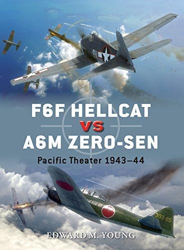 F6F Hellcat vs A6M Zero-sen: Pacific Theater 1943-44 (Duel Book 62) (English Edition)