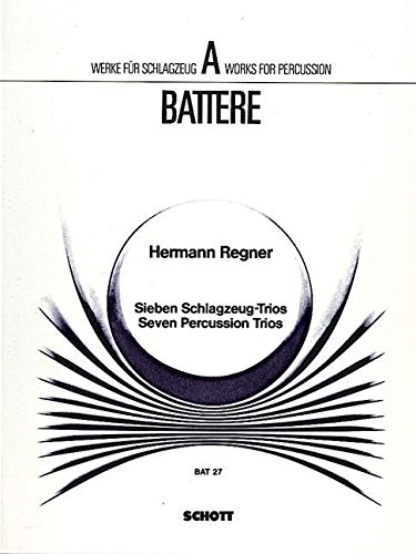 7 Trios - instruments à percussion (3 m...