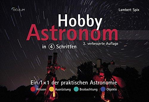 Hobby-Astronom in 4 Schritten: Ein 1×1 der praktischen Astronomie