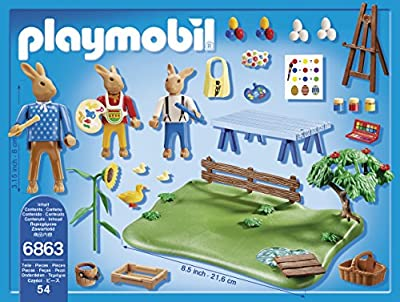 "Playmobil 6863 ""Easter Bunny Workshop"" Playset"