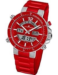 Jacques Lemans Unisex-Armbanduhr Milano Analog - Digital Silikon 1-1712D
