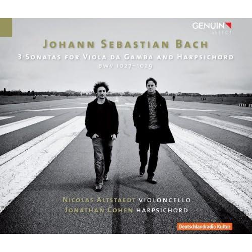 Viola da Gamba Sonata in G Major, BWV 1027: II. Allegro