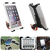Yongse Motorrad-Auto-Fahrrad-Mikrofonständer Halter Halterung für iPad Air 2 Mini 4 3 7-11inch Tablet