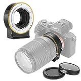 Neewer Bague d'Adaptation Autofocus Objectif Electronique AF, Compatible avec Nikon F...