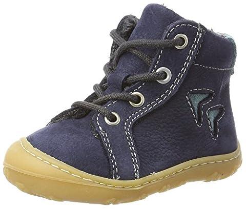 Ricosta Unisex Baby Georgie High Top Sneakers, Blau (See), 23 EU