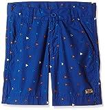 Flying Machine Boys' Shorts (FKST5081_Med.Blue_4 - 5 years)