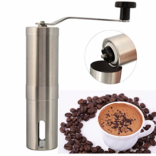 Edelstahl Hand manuelle Kaffeebohne Grinder MŸhle KŸche Schleifwerkzeug