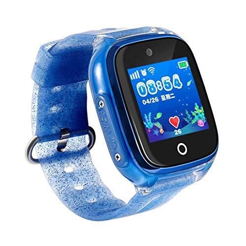 XXW Reloj Inteligente Reloj Inteligente para niños Reloj GPS Posicionamiento Pulsera Inteligente...