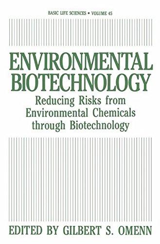 Environmental Biotechnology: Reducing Risks from Environmental Chemicals through Biotechnology (Basic Life Sciences)