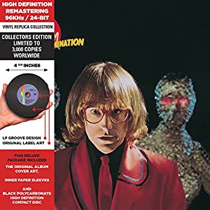 Escape From Domination - Cardboard Sleeve - High-Definition CD Deluxe Vinyl Replica