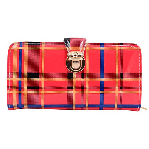 Bagaholics Ladies Purse Girls Wallet Hand Clutch Gift for Women (Red)  available at amazon for Rs.299