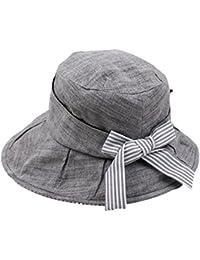 TYGRR Sombreros De Mujer Primavera Y Otoño Moda Sombrero Para El Sol  Sección Delgada Plegable Sombrero 34f90d1dc49