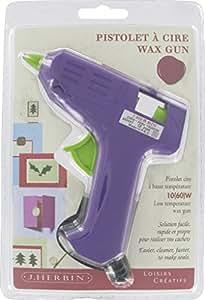 Georges Lalo Pistolet à Cire/Colle spécial Motif Petit pistolet Violet