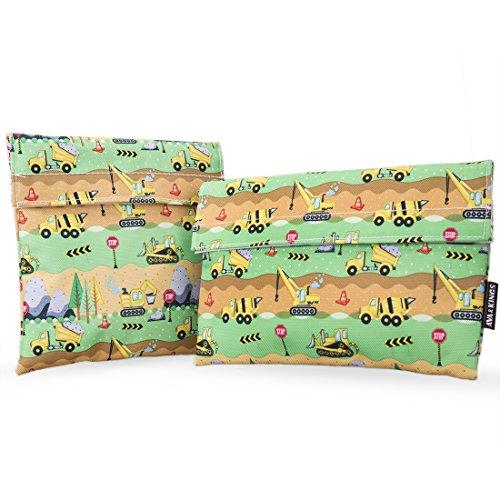 Ava & Kings bolsas de respetuoso con el medio ambiente reutilizable para...