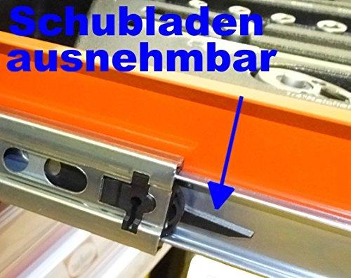 Werkstattwagen gefüllt mit Werkzeug! Werkzeugschrank Werkzeugwagen Werkzeugkiste - 6
