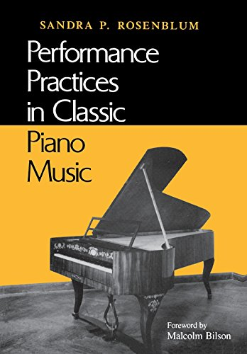 Performance Practices in Classic Piano Music: Their Principles and Applications por Sandra Rsoenblum
