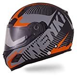 NENKI Helmets NK-856 Full Face Motorcycle Helmets ECE Approved With Dual Visors