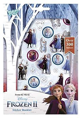 Tm essentials Disney Frozen II - Cuaderno con más de 300 Pegatinas de Anna & Elsa por TM Essentials