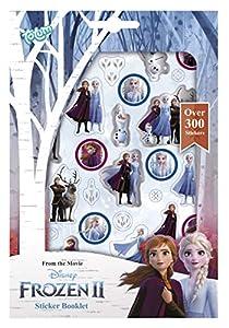 Tm essentials Disney Frozen II - Cuaderno con más de 300 Pegatinas de Anna & Elsa