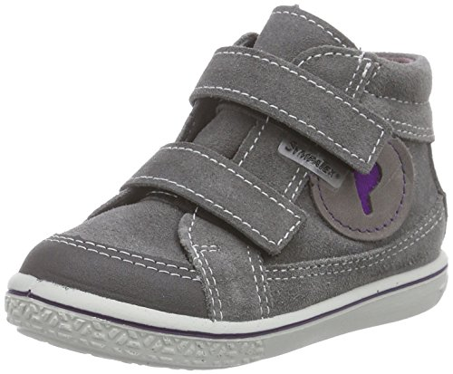 Ricosta Poli, Mädchen Hohe Sneakers, Grau (patina/lavendel 451), 22 EU (5.5 Kinder UK)