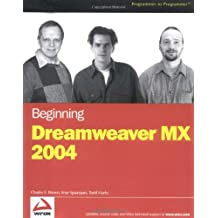 Beginning DreamweaverMX 2004 (Programmer to Programmer)