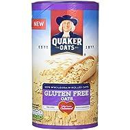Quaker Oats Gluten Free Wholegrain Rolled Oats, 510 g (Pack of 5)