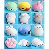 12 Stück Nette Katze Squishy Anti Stress Squishy Langsam Rising Spielzeug Squeeze Spielzeug Stress Relief Spielzeug
