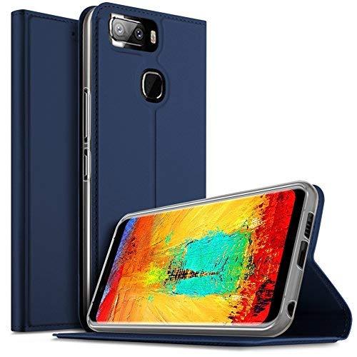 Leagoo S8 Pro Hülle, iBetter Leagoo S8 Pro Flip Bookstyle Kompletter Hüllen Mit Magnetverschluss und Standfunktion Tasche Etui Hüllen Schutzhülle für Leagoo S8 Pro Smartphone (Blau)