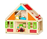 Viga Wooden Dolls House With 24 Piece Furniture - Best Reviews Guide