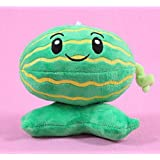 ZAsee Watermelon Plants vs Zombies Game Plush Toy Doll Pendant 15-20cm Watermelon Pitcher