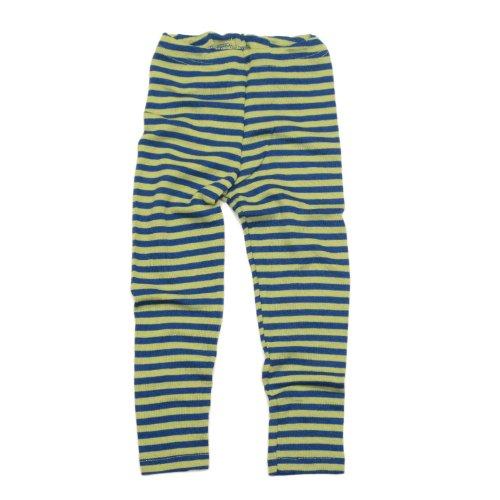 Baby Legging, Wolle Seide, Engel Natur, Gr. 62/68-110/116, 2 Farben (86/92, Light Ocean/Kiwi)