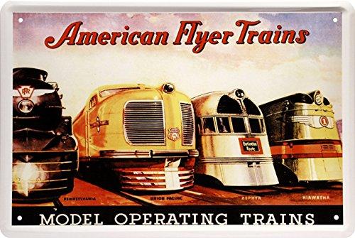 american-flyer-trains-zug-lock-usa-nostalgik-train-20-x-30-deko-blechschild-1454