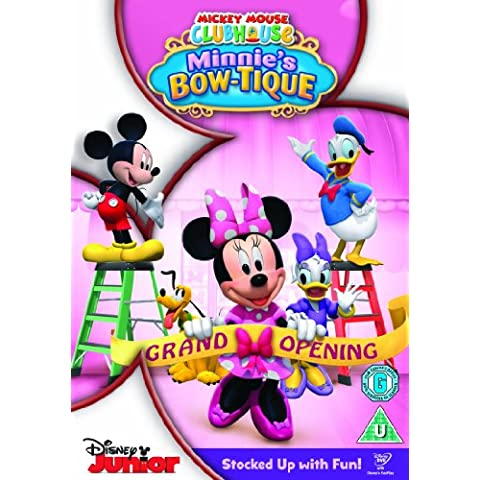 Mickey Mouse Clubhouse: Minnie'S Bow-Tique - Mouse Bow