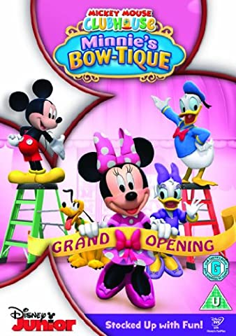Mickey Mouse Club House - Minnies Bowtique [DVD] - Mouse Bow