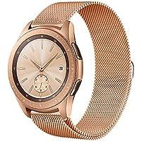 Circle für Samsung Galaxy 42mm Band,20mm Milanese Schleife Edelstahlband Ersatz-Armband für 42mm Samsung Galaxy Watch SM-R810/SM-R815